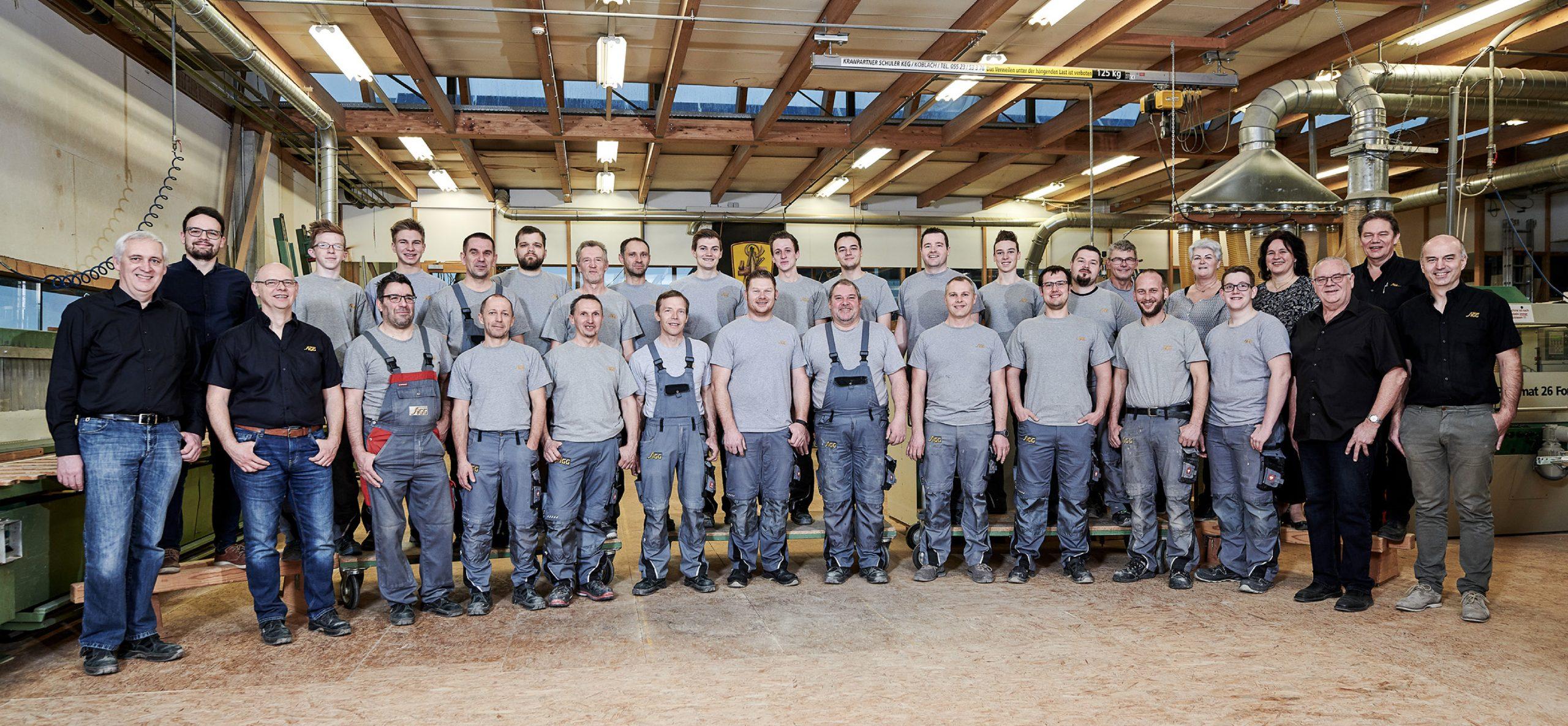 Team Tischlerei Sigg